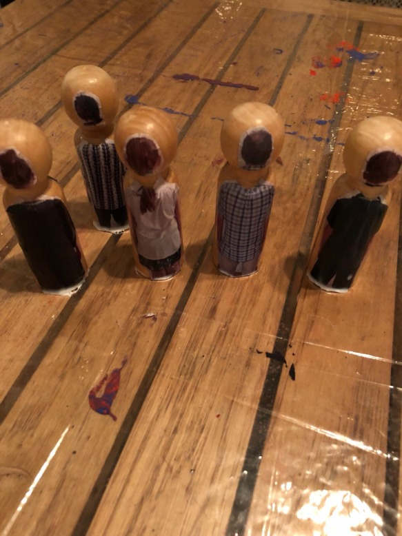 Wooden people 6